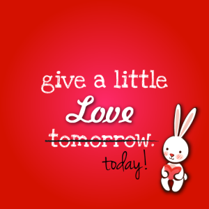 give a little love-01